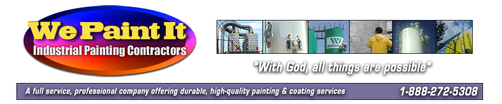 Industrial Painting Contractors in Georgia, Alabama, Mississippi, Tennessee, Florida, Texas & Oklahoma
